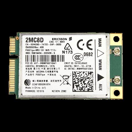 Dell Wireless 5550 WWAN 3G/HSDPA/UMTS mini PCI Express adapter