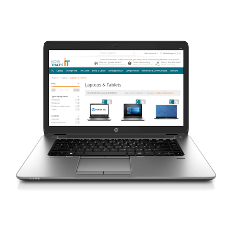 HP EliteBook 850 G2 i5-5300U, 8GB RAM/256GB SSD, 15.6 inch HD, WiFi+BT, Webcam, Radeon R7, Win10 Pro