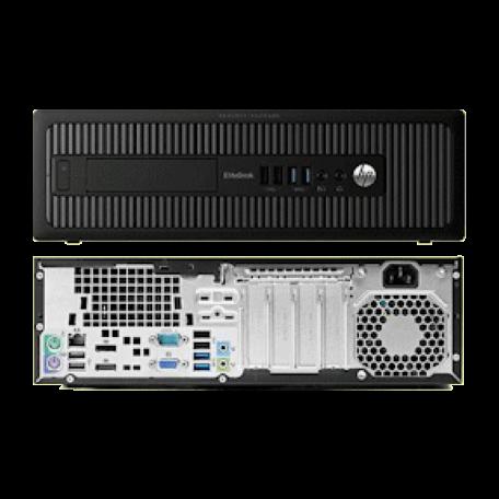 HP EliteDesk 800 G1 SFF Core i5-4690 3.5GHz, 8GB RAM/240GB SSD, DVDRW, Gigabit, 4x USB3.0, Win10 Pro