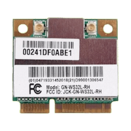 Gigabyte AirCruiser N150 Wireless 802.11n Draft-N 150Mb/s MIMO Mini-PCIe
