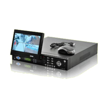 OEM H.264-DVR-LCD 4-Channel DVR-system (H264, 7