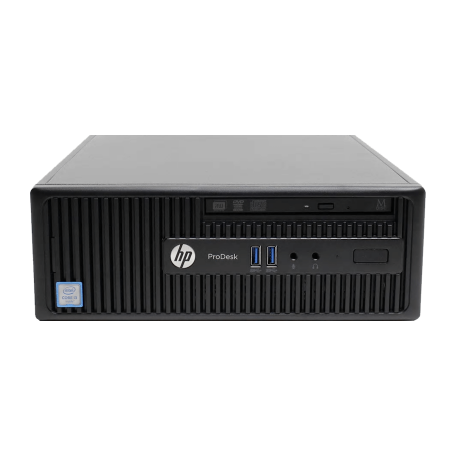 HP ProDesk 400 G3 SFF Core i3-6100 3.7GHz, 4GB RAM/128GB SSD, DVDRW, Gbit LAN, 4x USB3.0, Win 10 Pro