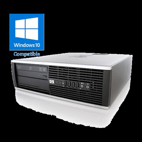 HP Elite 8200 SFF Core i5-2400 3.1GHz, 4GB DDR3/120GB SSD, DVDRW, Gigabit, 8x USB2.0, Win 10 Home