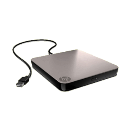 HP BU516AA#AC3 8-speed DVD +/-RW extern USB2.0 met LightScribe
