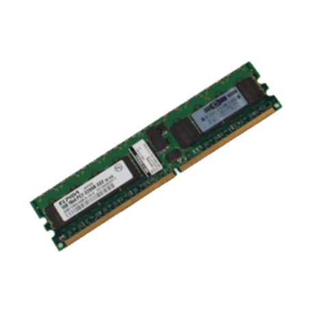 HP 345113-051 1GB DDR2 PC2-3200R Single-Rank DIMM-module