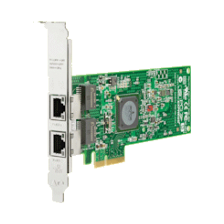 HP 458491-001 NC382T FullHeight PCIe x4 Dual Port Adapter