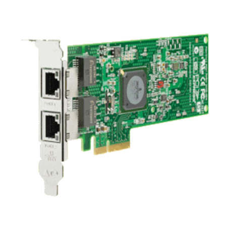 HP 458491-001 NC382T LowProfile PCIe x4 Dual Port Adapter