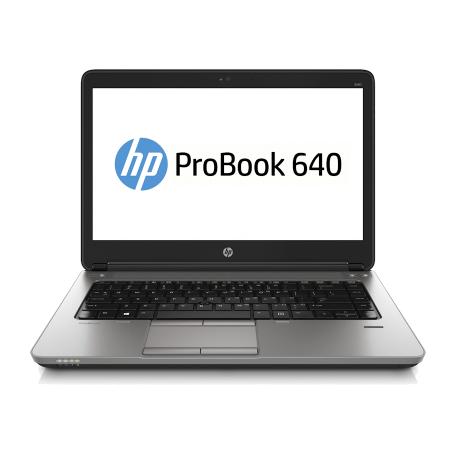 HP ProBook 640 G1 Core i5-4310M, 8GB RAM/128GB SSD, DVDRW, 14 inch HD+, WiFi+BT+WWAN, Win 10 Pro