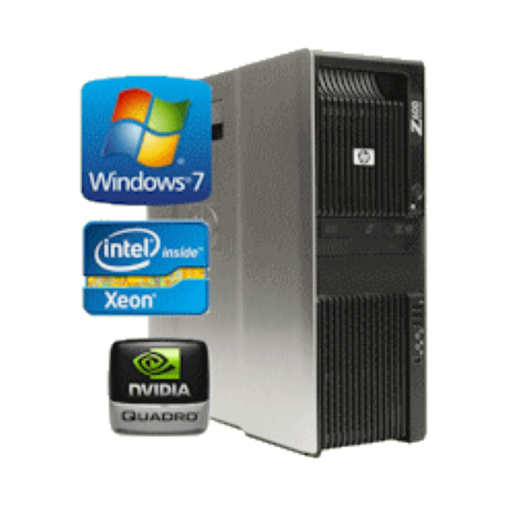 HP Z600 Workstation Dual 4-core E5530 2.4GHz 12GB/1TB DVDRW/Q600/7P UK