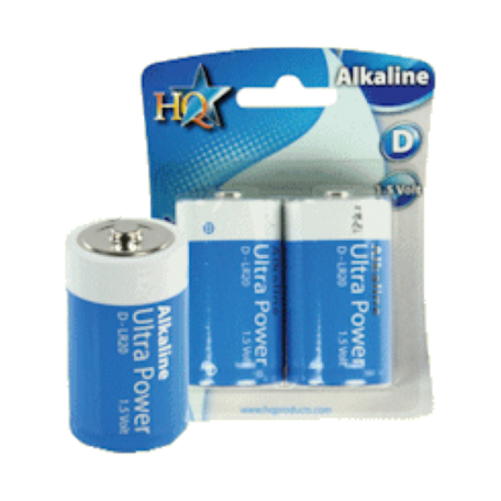 HQ HQ-ALK-D-01 Alkaline D-LR20 Ultra Power Mono batterij