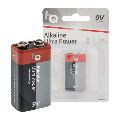 HQ HQ6LR61/1BL Alkaline E Ultra Power 9V block batterij  (6LR61)