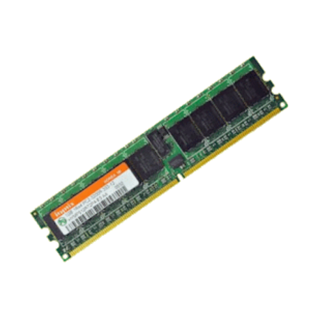 Hynix HYMP512R72P4-E3 1GB DDR2 PC2-3200R Single-Rank DIMM-module