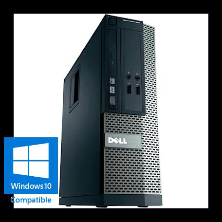 Dell Optiplex 390 SFF DualCore 2.7GHz 4GB/250GB/DVDRW Gbit/10xUSB2.0/W7P