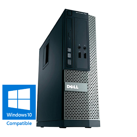 Dell Optiplex 390 SFF Core-i5 3.1GHz 4GB RAM/120GB SSD, DVDRW, Gigabit LAN, 10x USB2.0, Win 10 Home