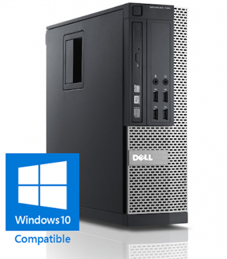 Dell Optiplex 790 SFF G630 2.7GHz 4GB/250GB/DVDRW Gbit/10xUSB/HD6350/7HP
