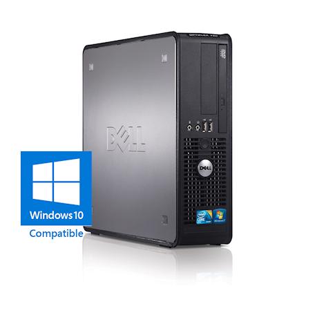 Dell Optiplex 780 SFF Core2Duo 3.0GHz, 4GB DDR3/320GB HDD, DVDRW, Gigabit LAN, 8x USB, Win 10 Home