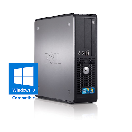 Dell Optiplex 780 SFF Core2Duo 3.0GHz, 4GB DDR3/320GB HDD, DVDRW, Gigabit LAN, 8x USB, Win 7 Pro