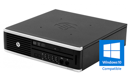 HP Elite 8200 USDT Core-i5 2400S 2.5GHz, 4GB RAM/120GB SSD, DVDRW, Gigabit LAN, Win 10 Home