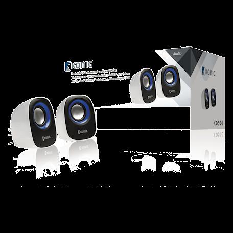 König USB Speakerset