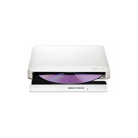 LG GP57EW40 8-speed DVD +/-RW extern USB2.0 (Win/Mac, Wit)