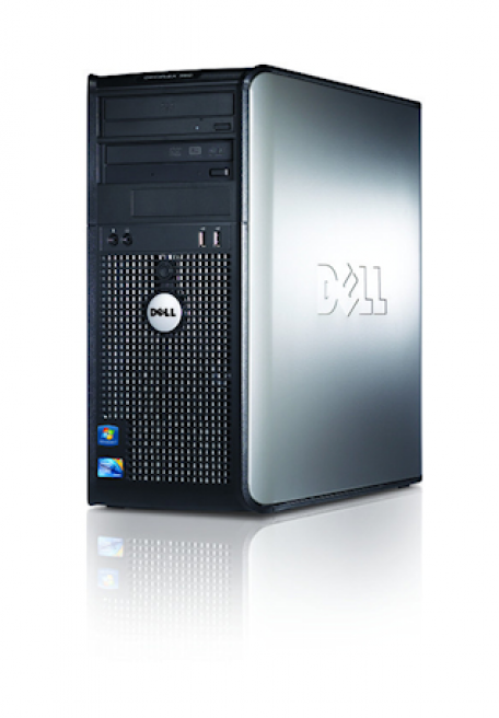 Dell Optiplex 760 SMT C2D 2.8GHz 2GB/160GB/DVDRW Gbit/8xUSB2.0/VB