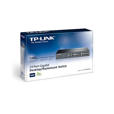 TP-LINK TL-SG1024 Gigabit switch (24x 10/100/1000Mb, 19