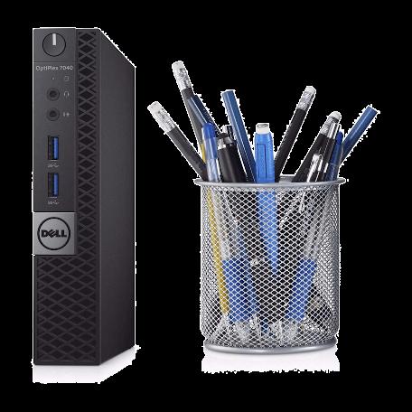 Dell Optiplex 7040M Micro Core i5-6500T 2.5GHz, 8GB DDR4/512GB SSD, WiFi+BT, DP+VGA+HDMI, Win 10 Pro