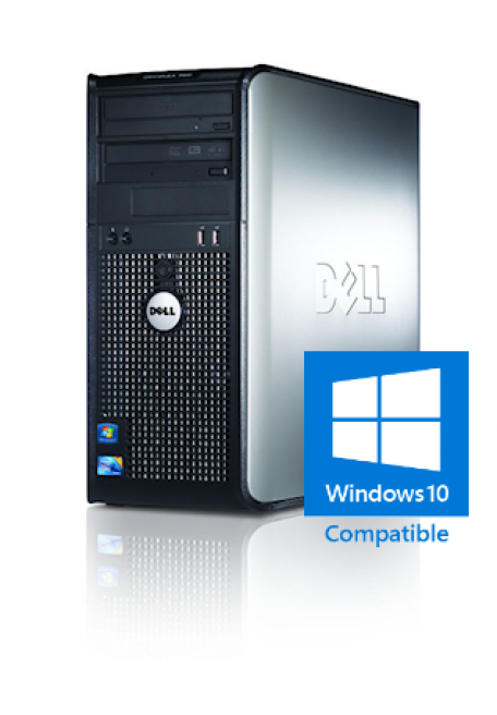 Dell Optiplex 380 SMT Core2Duo 3.0GHz 4GB/250GB/DVDRW Gbit/8xUSB2.0/W7P