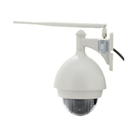 OEM Indoor Dome IP-camera (H.264, 3x Zoom, Wired/WiFi, PTZ, uSD)