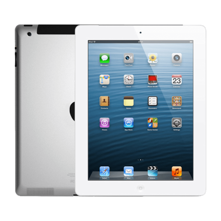 Apple iPad 3 WiFi Wit 9.7 inch Retina 2048x1536 Touch 3e generatie 64GB tablet (model A1416)