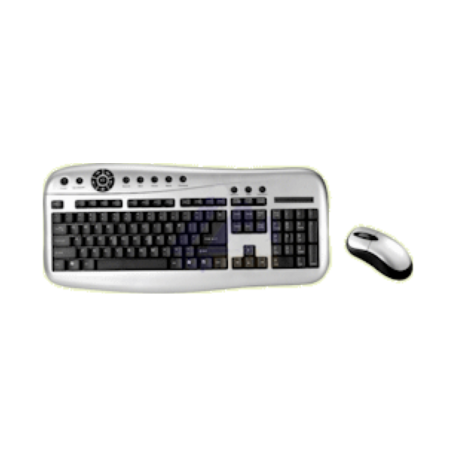 SanSun IX-FAMILY-1 Multimedia COMBO Set (USB+PS/2, Optisch, Bedraad)