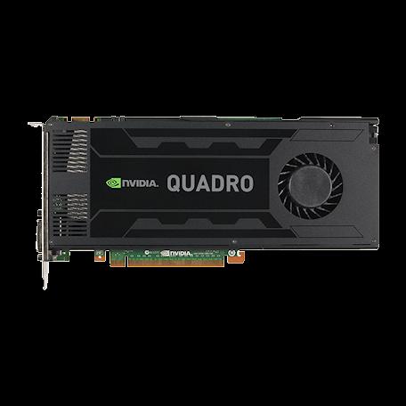 Nvidia Quadro K4000 PCIe 2.0 x16 (3GB GDDR5, DVI-I + 2x DisplayPort)