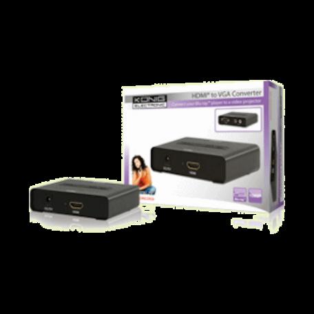 König KN-HDMICON26 HDMI naar VGA converter (1080p resolutie + audio)