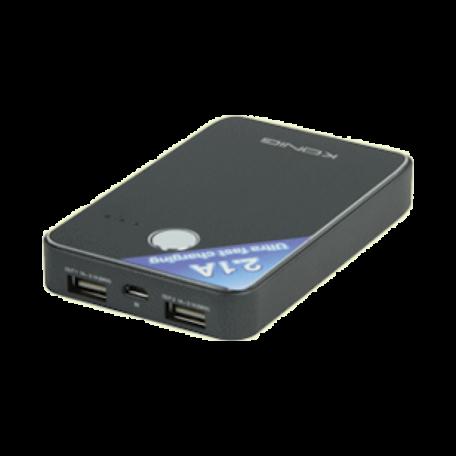 König KN-PBANK7000 Draagbare Power Bank met USB (7000mAh, 17mm dun)