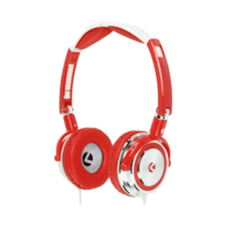 KNG KNG-5030 Droid - Human After all On-Ear headset (Rood)