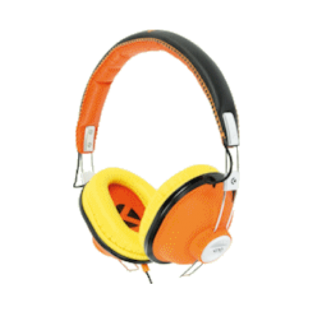 KNG KNG-5120 Bulldozr-Chaos Constructor On-Ear headset (Oranje)