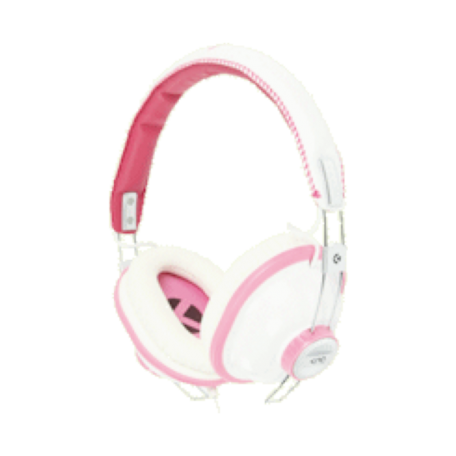 KNG KNG-5130 Bulldozr-Chaos Constructor On-Ear headset (Roze)