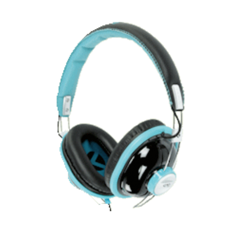 KNG KNG-5140 Bulldozr-Chaos Constructor On-Ear headset (Turq)
