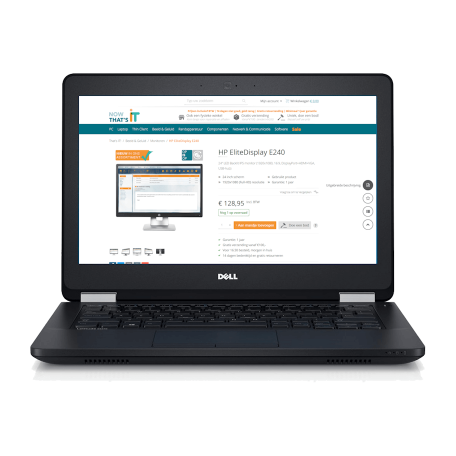 Dell Latitude E5270 Core i5-6300U, 8GB DDR4/128GB SSD, 12.5 inch Full-HD, ac-WiFi+BT, Win 10 Pro