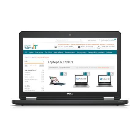 Dell Latitude E5550 Core i5-5300U 2.3GHz, 16GB RAM/256GB SSD, WiFi+BT, 15.6