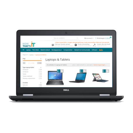 Dell Latitude E5570 i5-6300U, 8GB RAM/256GB SSD, ac-WiFi+BT, 15.6 inch Full-HD, Webcam, Win 10 Pro