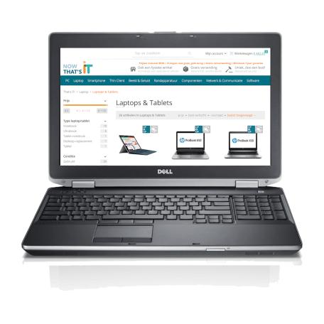 Dell Latitude E6530 i7-3720QM, 8GB RAM/240GB SSD, 15.6 inch HD+, WiFi+WWAN, NVS5200M, W10P (B-keus)