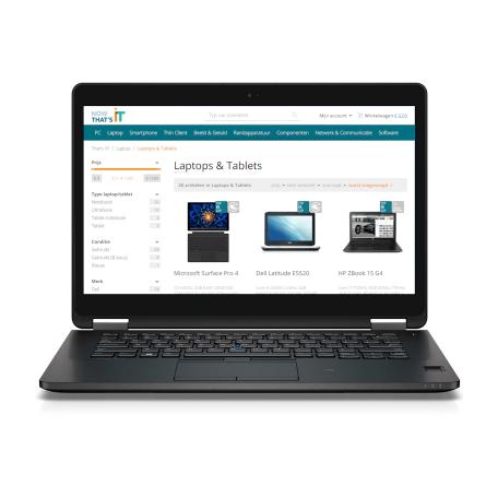 Dell Latitude E7470 Core i5-6300U 2.4GHz, 8GB DDR4/256GB PCI-e SSD, WiFi+BT, 14