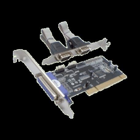 Longshine LCS-6022 PCI kaart met 2x Seriële en 1x Parallele poort