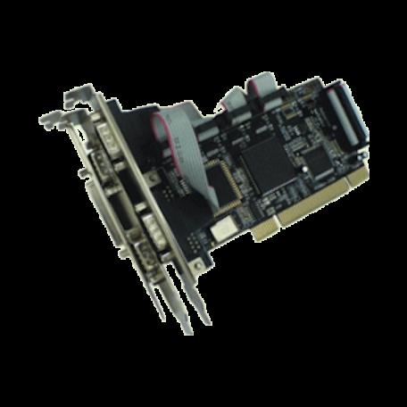 Longshine LCS-6024-A PCI kaart met 4x Seriële en 1x Parallele poort