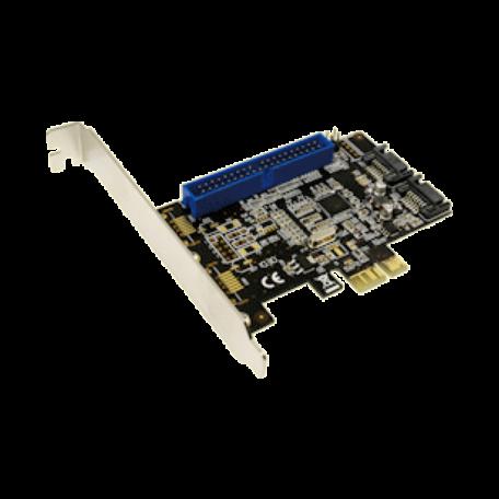 LogiLink PC0064 2-kanaals SATA 6Gbs PCI Express x1 RAID-controller