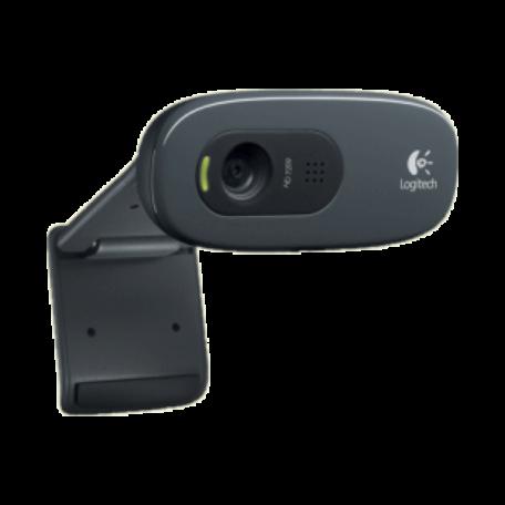 Logitech C270 USB HD-webcam (1280x720 HD, microfoon)