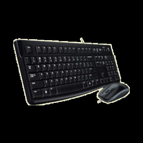 Logitech 920-002562 Desktop MK120 (USB/Optisch/Morsbestendig)