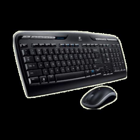 Logitech 920-003989 Wireless Desktop mk330 (USB/Optisch/Draadloos)
