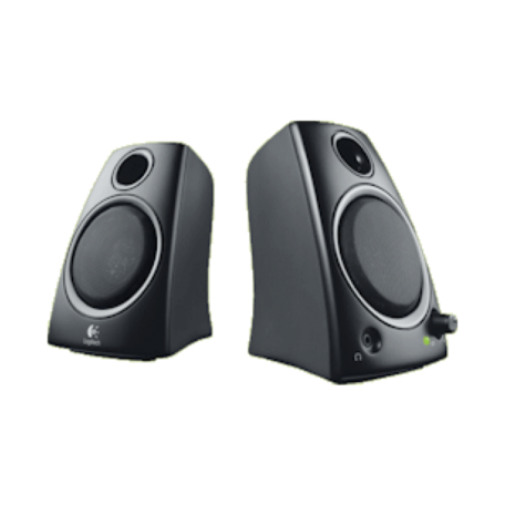 Logitech z130 Stereo 2.0 Multimedia Speakerset (5W RMS, Zwart)